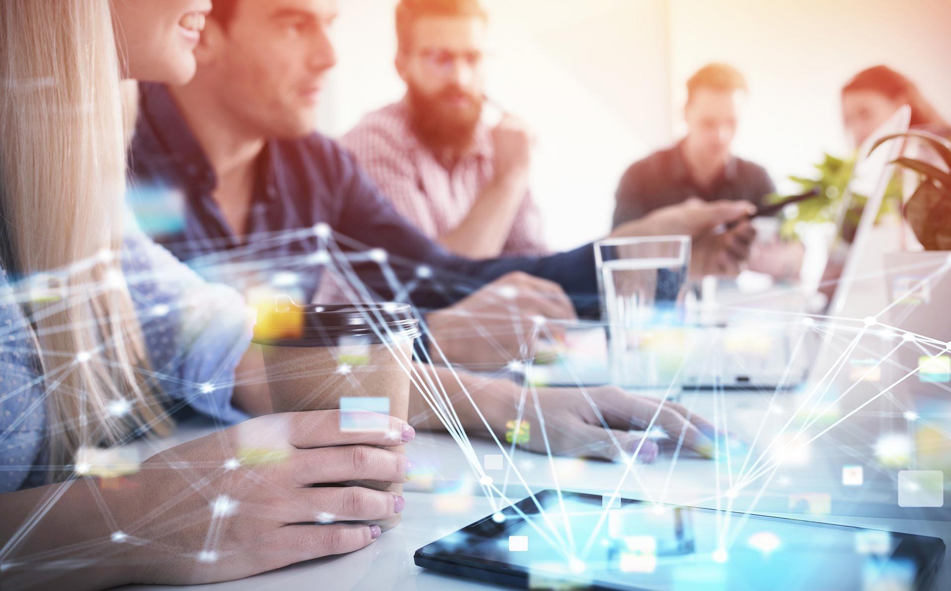 Telna - Career Page Header - Team Meeting