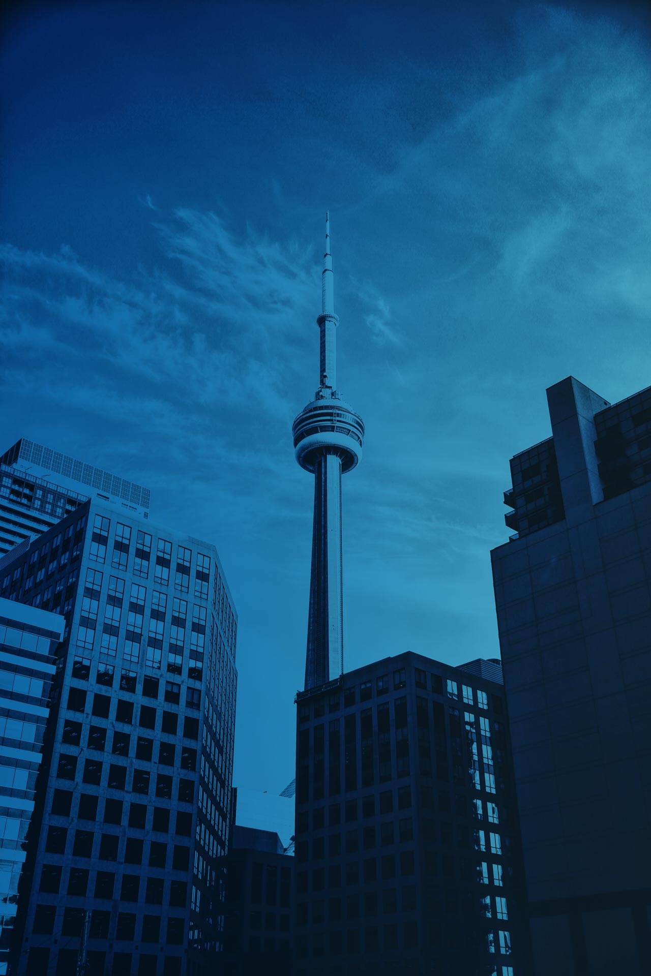 Telna - Toronto Landscape Background - Lead Generation Page