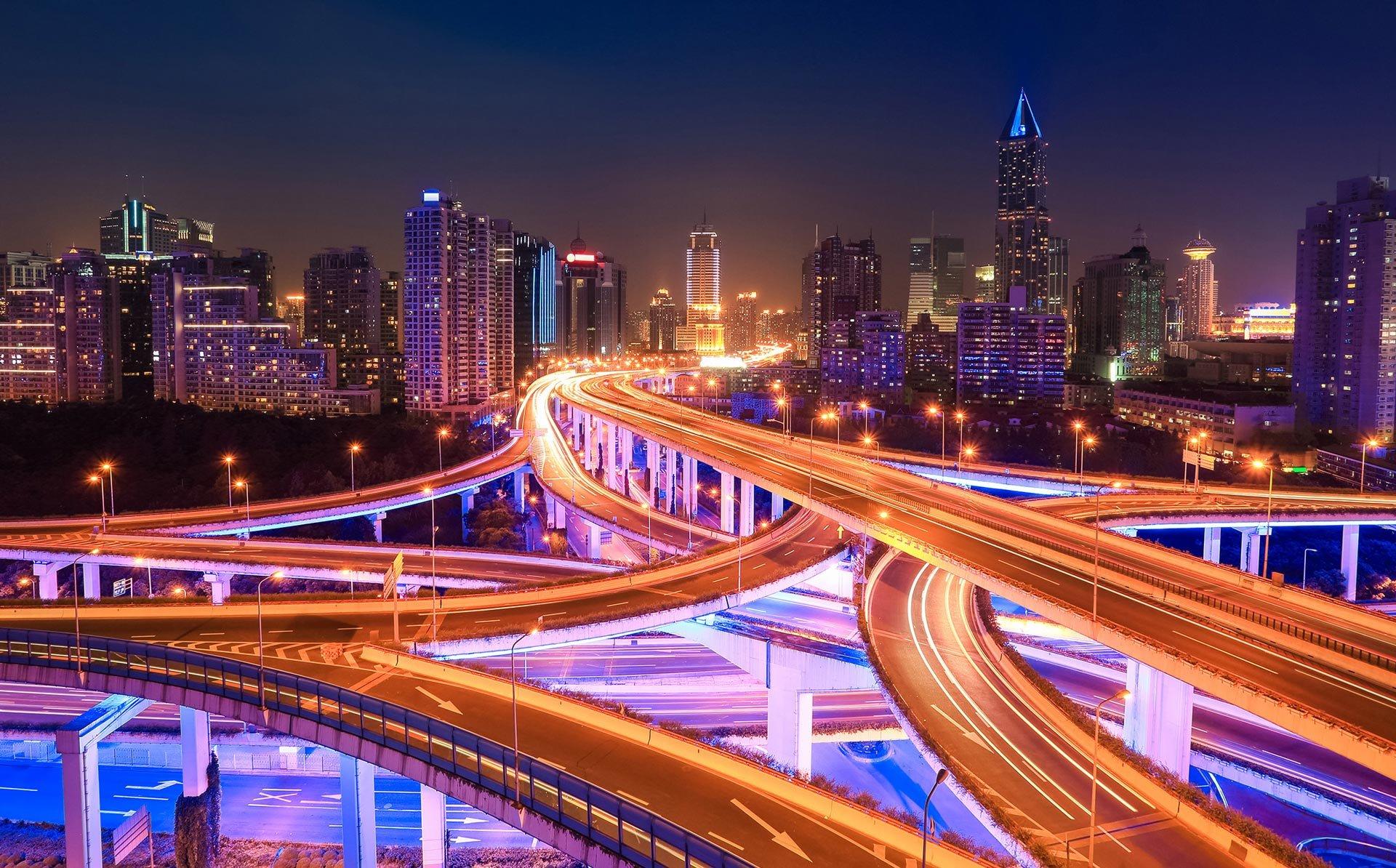 Telna - City Traffic Backgroung - Videos Header