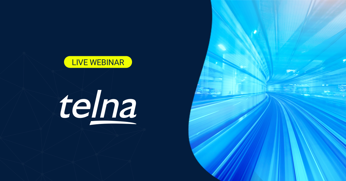 The Inflection point for cellular IoT - a webinar hosted by Telna