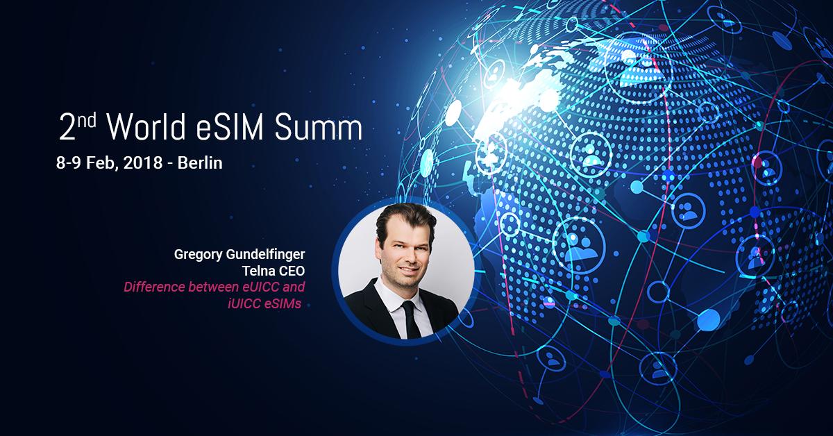 Telna CEO to speak at World eSIM Summit